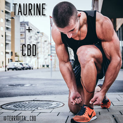 Benefits of Taurine and Full Spectrum CBD to Improve Athletic Performance and Brain Functionality