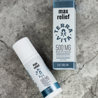 Load image into Gallery viewer, TerraVita CBD Max Relief. CBD pain relief roll on gel to help with sore muscles, aches and pains. 500mg broad spectrum CBD with cooling menthol and aloe vera for deep penetrating pain relief.