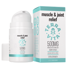Load image into Gallery viewer, TerraVita muscle and joint relief CBD Cream for Pain. Contains 500mg of broad spectrum CBD with lidocaine, menthol and arnica.