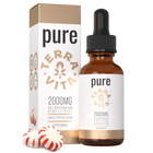 Load image into Gallery viewer, TerraVita CBD pure full spectrum CBD oil with 2000mg of CBD in peppermint flavor.