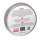Load image into Gallery viewer, TerraVita warming cbd salve for pain with 500mg of broad spectrum cbd and capsaicin. back of label showing ingredients and directions for use.