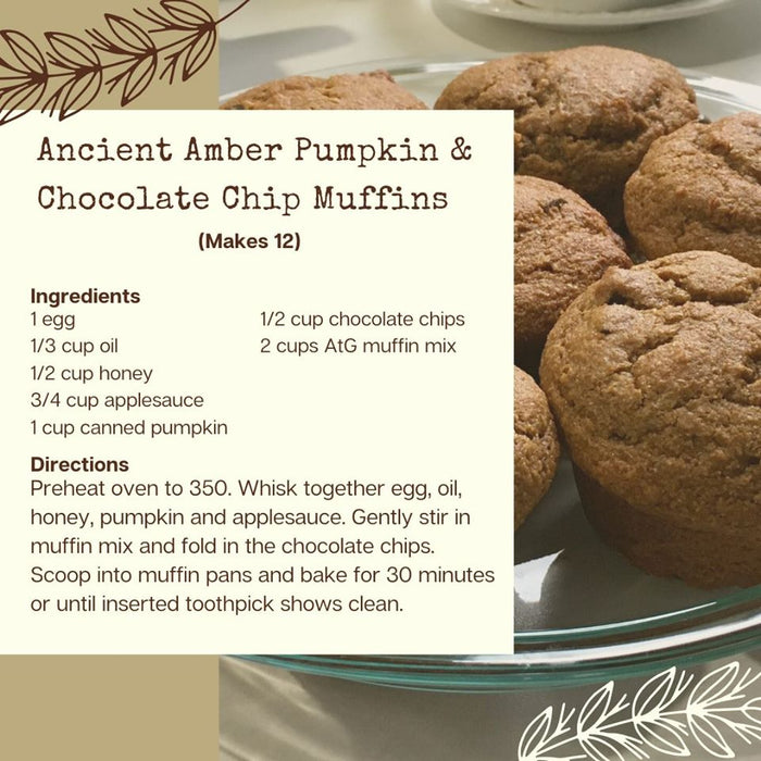 Ancient Amber & Spice Muffin Mix 600g