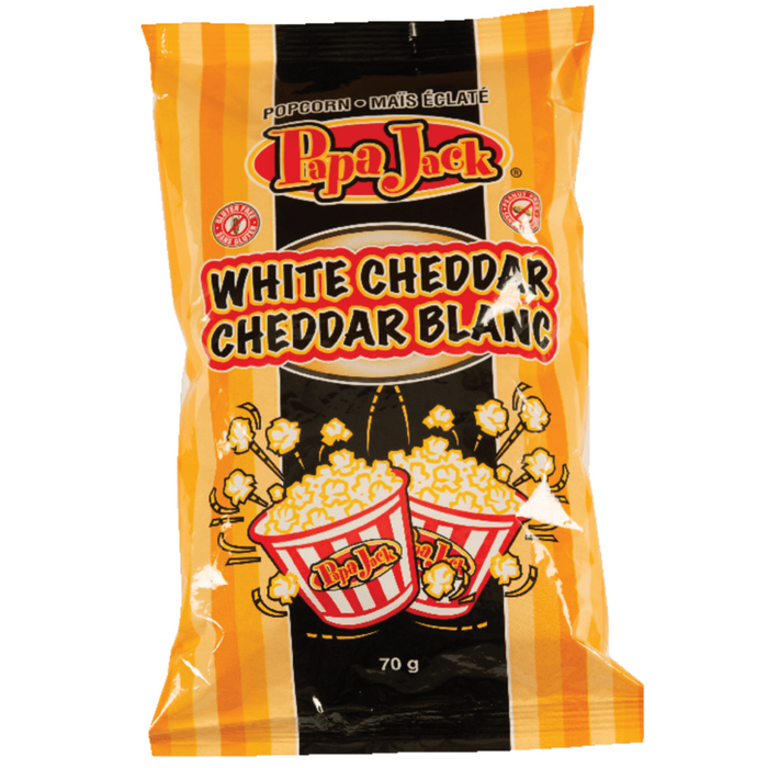 White Cheddar Kettle Corn 70g