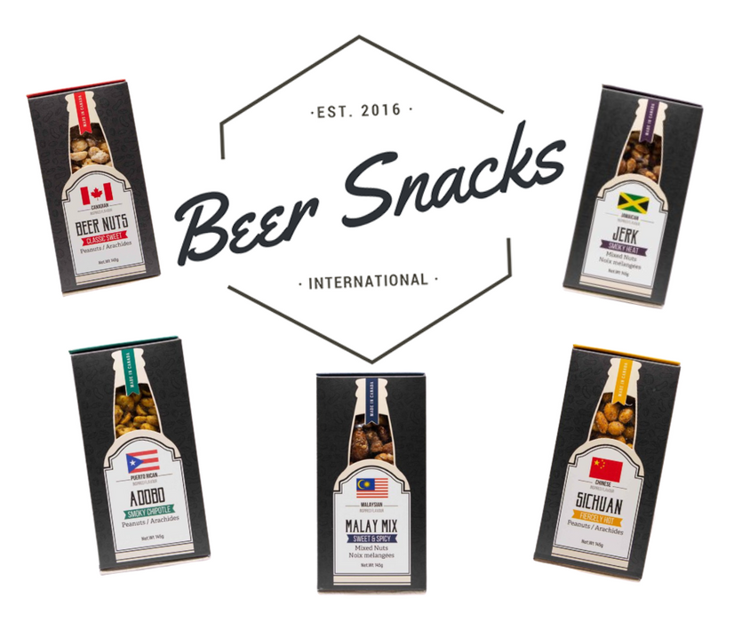 Beer Nuts Snack Pack-5 Flavours!