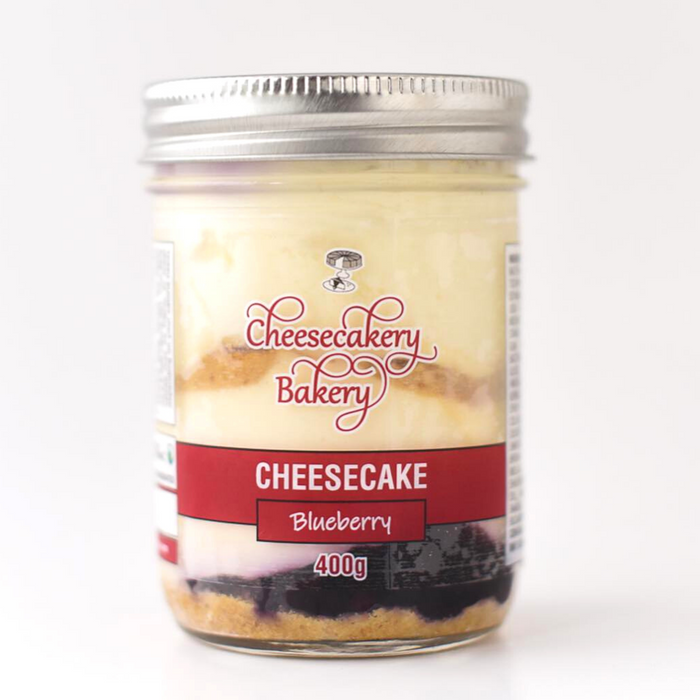 Cheesecake in a Jar- Blueberry