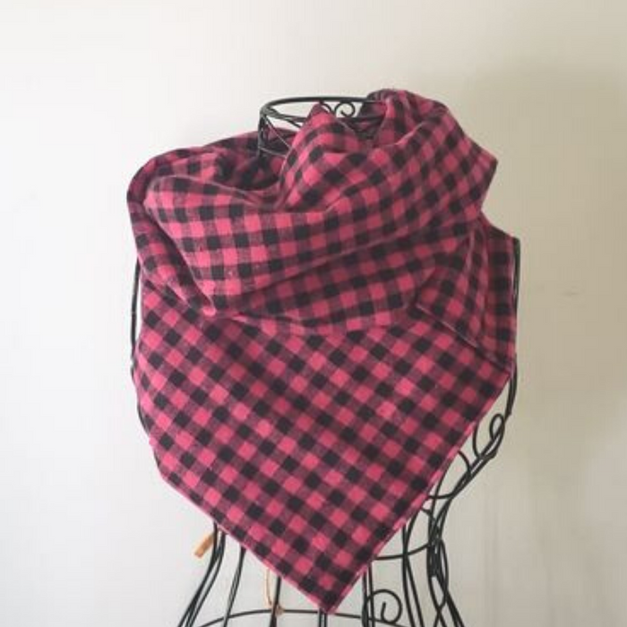 Red Gingham Scarf