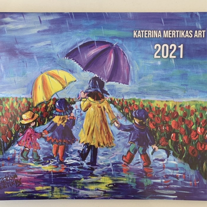 2021 Calendar of Hope- All proceeds donated to Ottawa Hospital
