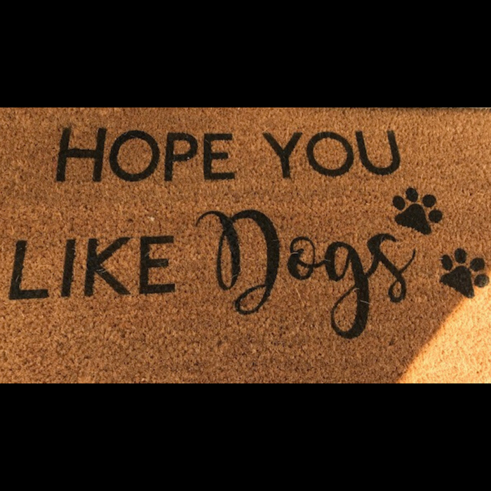 Dog Lover Door Mat