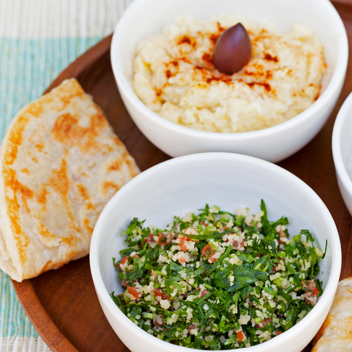 Tabbouli and Hummus Duo