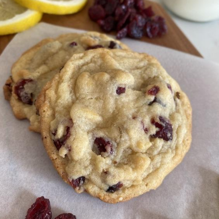 Lemon Cranberry Cookie Kit- Vegan