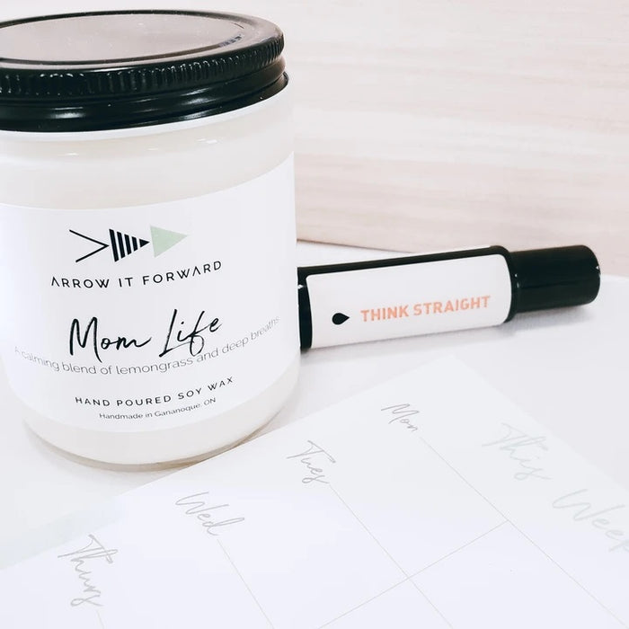 Mom Life Soy Candle- 4oz