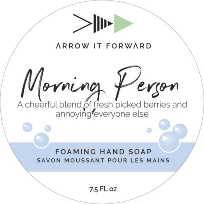 Morning Person- Foaming Hand Soap