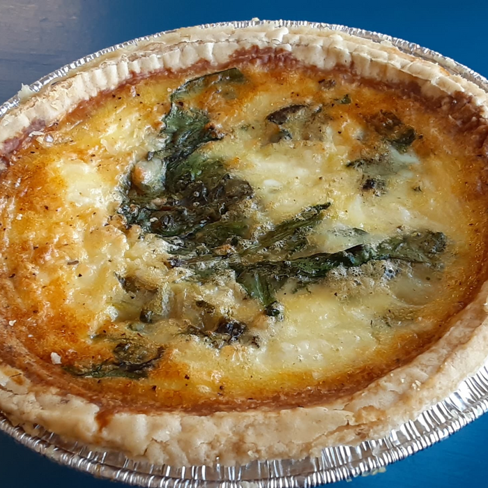 "5"" Farmer's Market Quiche"