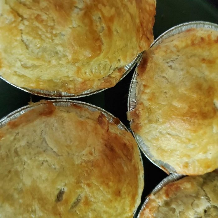 Chicken, Leek and Mushroom Pie-Personal size