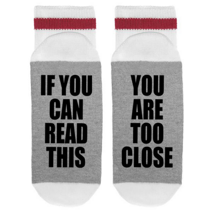 You Are Too Close Socks- Men