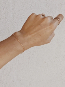 Orb Linked Bracelet - Gold