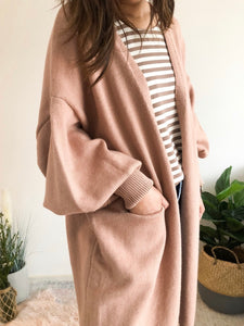 Coco Cardigan - Dusty Pink