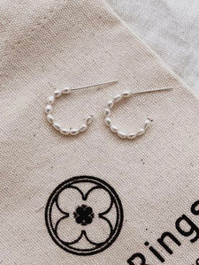 Pearly Hoops Small