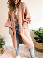 Load image into Gallery viewer, Coco Cardigan - Dusty Pink