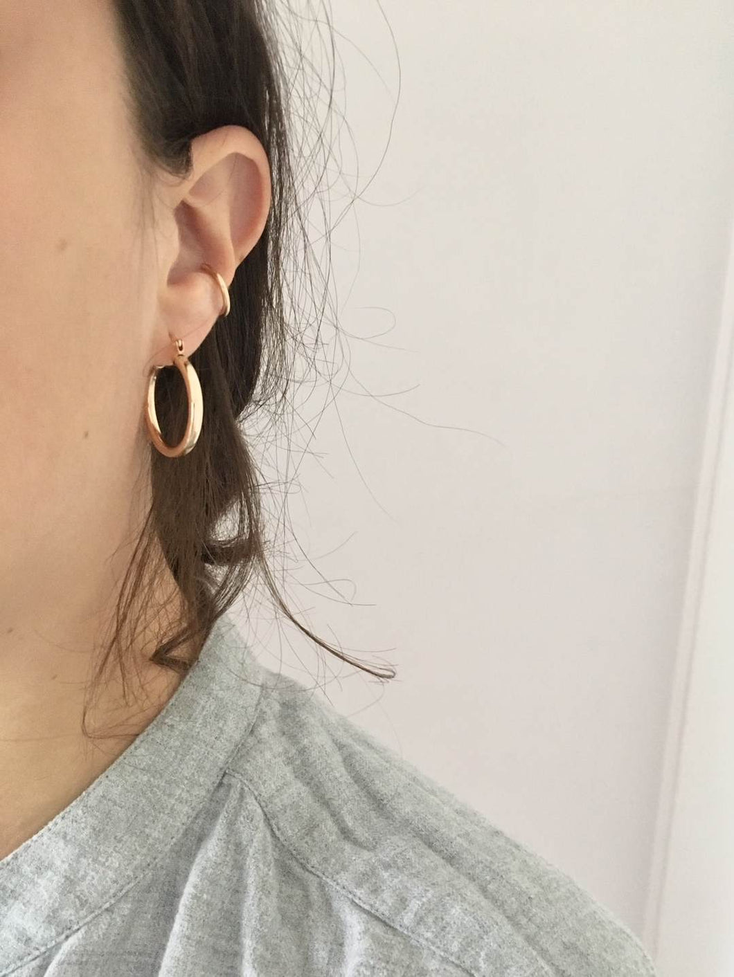 Chunky Hoops - Gold