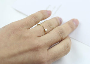 Pearl Ring - Gold