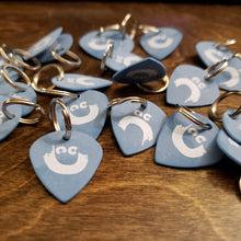 Load image into Gallery viewer, Guitar Pick Keychain