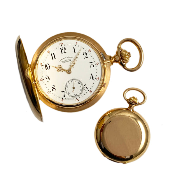 "A. Lange & Söhne ""His and Hers"" 19th century pocket watches"