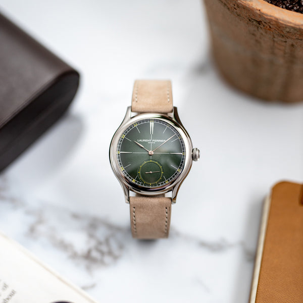 "Laurent Ferrier Classic Origin Green ""Série Atelier"" - X/30"