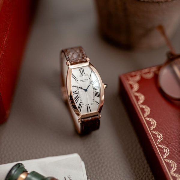 Cartier Tonneau 2802 XL 100th anniversary