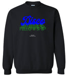 DISCO FELLOWSHIP 2 Crewneck Sweatshirt Black