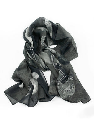 Petal Flow Night Scarf
