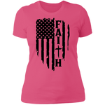 Faith Ladies' Boyfriend T-Shirt