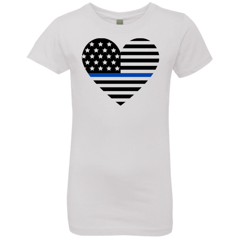 Thin Blue Line Girls' Princess T-Shirt