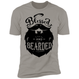 Blessed And Bearded Short Sleeve T-Shirt