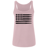 Bullet Flag Ladies' Relaxed Jersey Tank