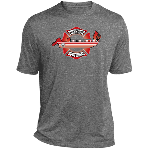 Firehouse Bowfishing Heather Dri-Fit Moisture-Wicking T-Shirt