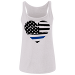 Thin Blue Line Ladies' Relaxed Jersey Tank