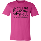Call Me On My Shell Short-Sleeve T-Shirt