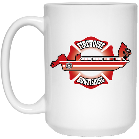 Firehouse Bowfishing 15 oz. White Mug