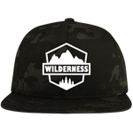 Wilderness Badge Flat Bill High-Profile Snapback Hat