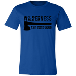 Wilderness Axe Throwing Short-Sleeve T-Shirt