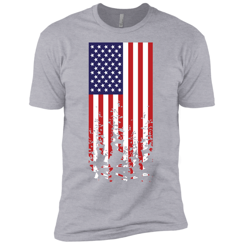 Distressed Flag Boys' Cotton T-Shirt