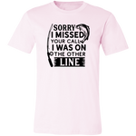 Was On The Other Line Short-Sleeve T-Shirt