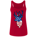 Deer Flag Ladies' Relaxed Jersey Tank
