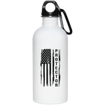 Protector 20 oz. Stainless Steel Water Bottle