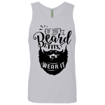 If The Beard Fits Men's Cotton Tank