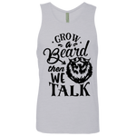 Grow A Beard Men's Cotton Tank