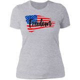 Freedom Ladies' Boyfriend T-Shirt