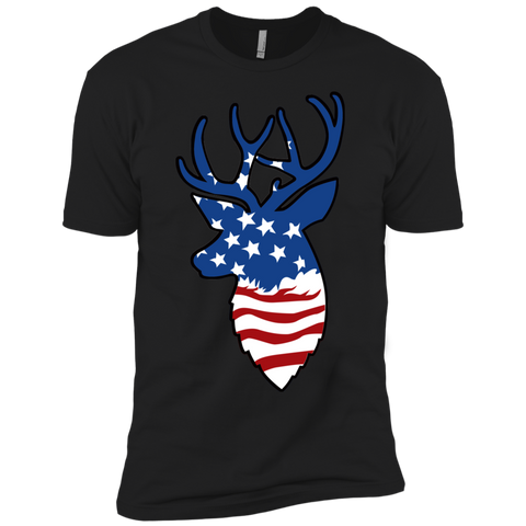 Deer Flag Boys' Cotton T-Shirt