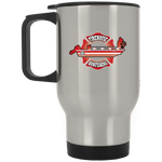 Firehouse Bowfishing Silver Stainless Travel Mug